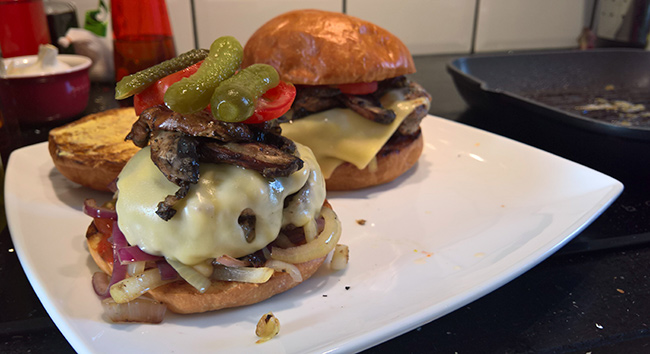 Burger Me Senseless